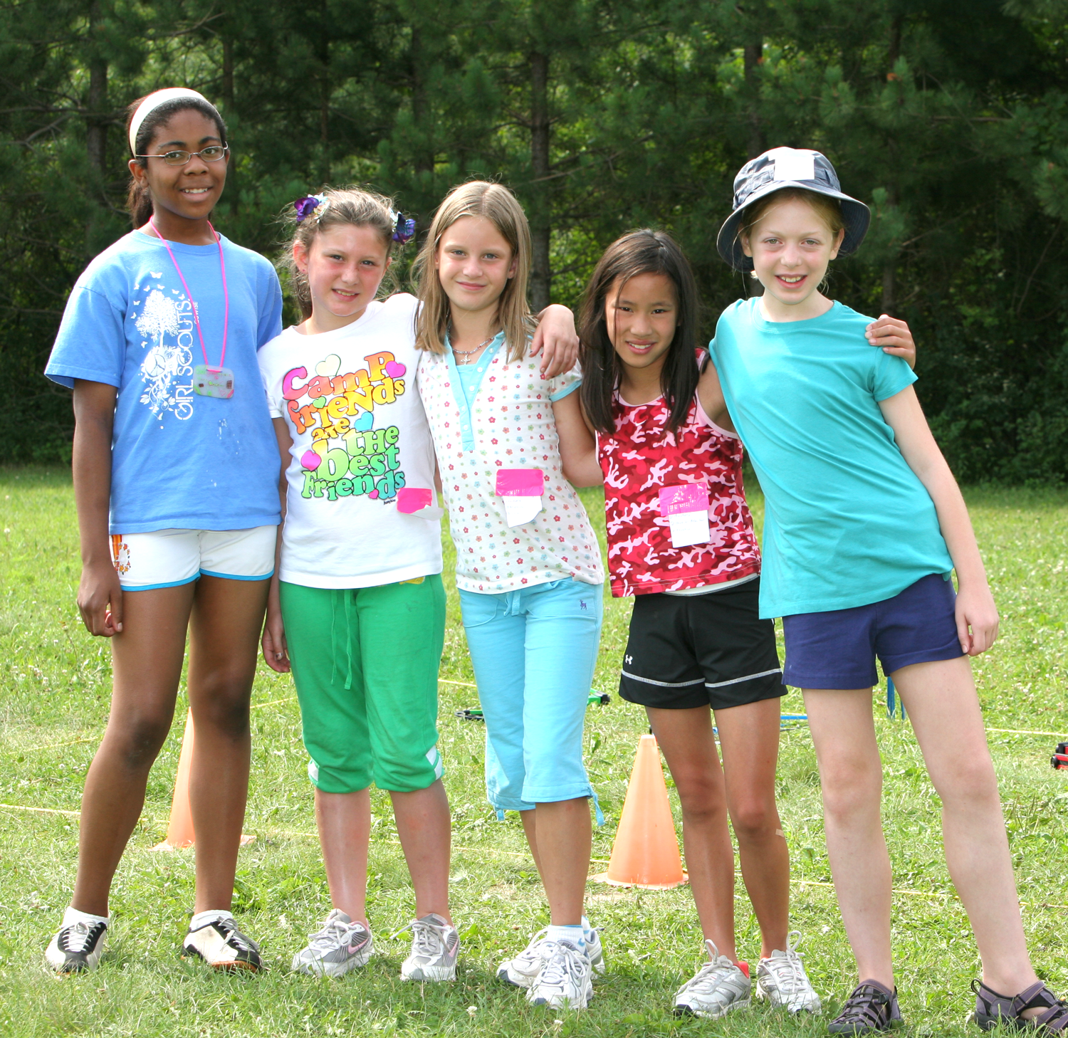 Traditional teen summer camps